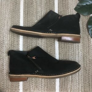 UGG black ankle booties Size 10